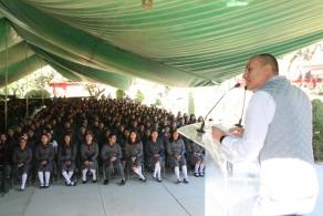 Estudiantes del COBAO regresan a clases en el nuevo semestre 2018'A