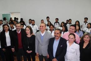 Inauguran ciclo escolar Sistema Abierto del COBAO Y DIF municipal
