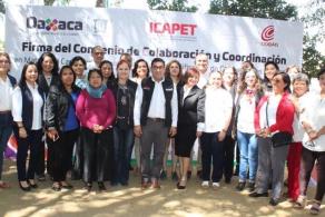 SIGNAN CONVENIO COBAO E ICAPET EN MATERIA DE CAPACITACIÓN LABORAL