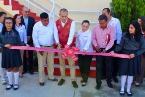 Con 3 aulas más, mobiliario y equipo didáctico inician clases en el COBAO de Cuilapam