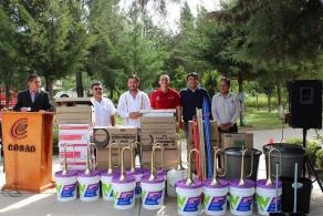Fortalece COBAO con equipamiento a planteles de la Mixteca