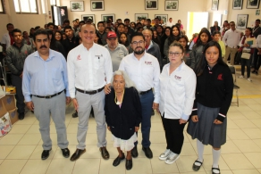 Entrega víveres COBAO a la Casa Hogar Municipal del Adulto Mayor