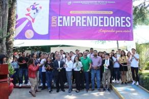 Realizó COBAO la Expo Emprendedores 2019