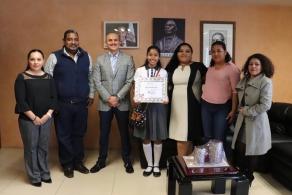 Estudiante del COBAO obtiene primer lugar en concurso de ensayo