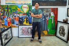 Egresado del COBAO expondrá sus obras en Europa