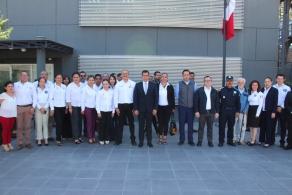 Renuevan convenio de colaboración COBAO Y SSPO