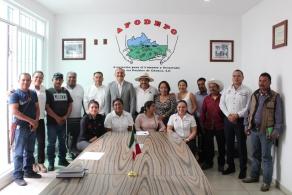 Signan convenio de colaboración Cobao Y AFODEPO