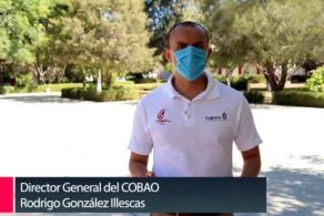 Mensaje del Director General por el inicio de semestre 2021´A en el COBAO