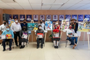 "Se llevó a cabo la premiación del Concurso Estatal Estudiantil de Dibujo ""El arte del Manga"""