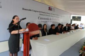 """Egresa la generación """"Gabino Barreda"""" del sistema de enseñanza  abierta del COBAO"""