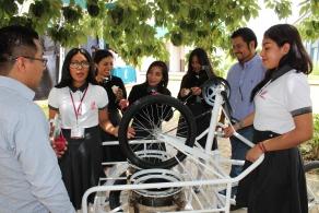 Primeros lugares para el COBAO  en el concurso  estatal de aparatos y experimentos de física