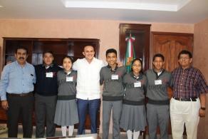 Jóvenes talentosos del COBAO ganan diversas medallas