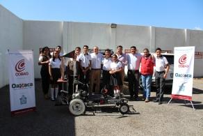 PRESENTAN ESTUDIANTES DEL PLANTEL 06 PUTLA, PROYECTO DE GO-KART ECOLÓGICO